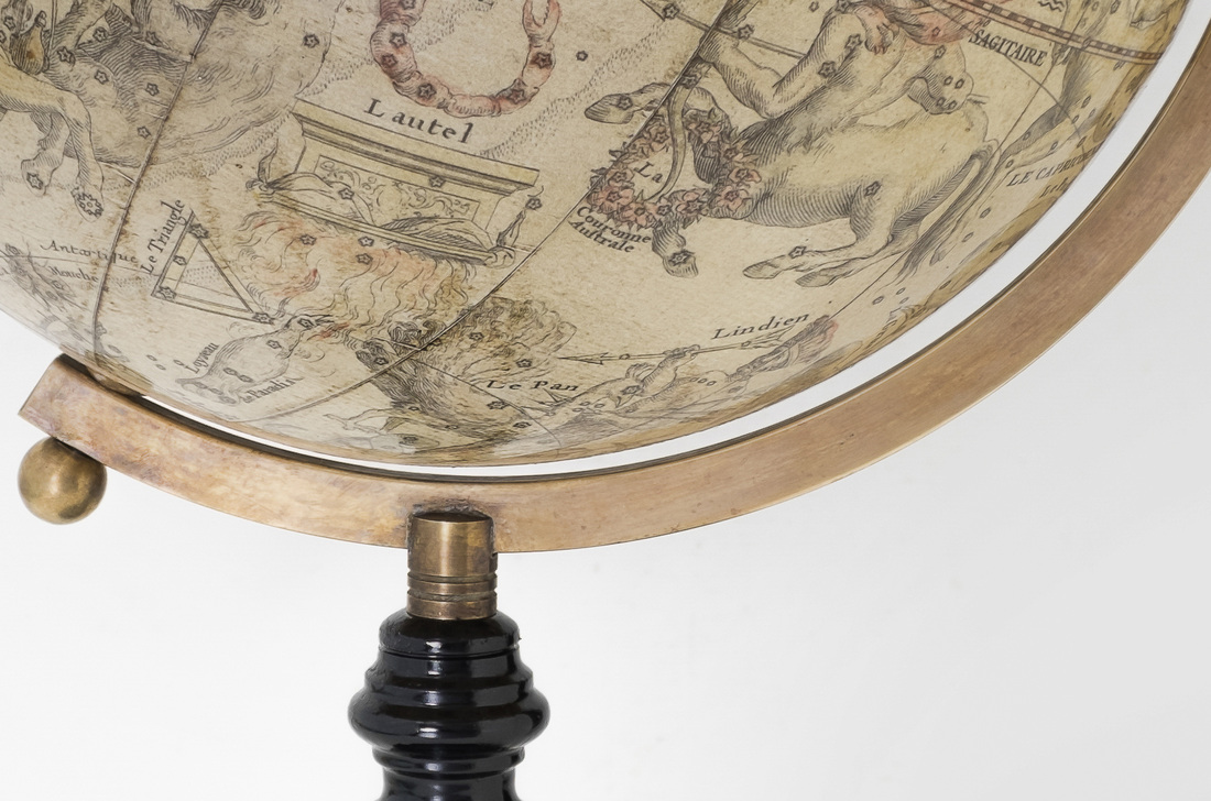 star globe, lander and may globes, globemakers