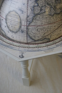 Giovanni Maria Cassini     13 inch hand coloured terrestrial globe 4