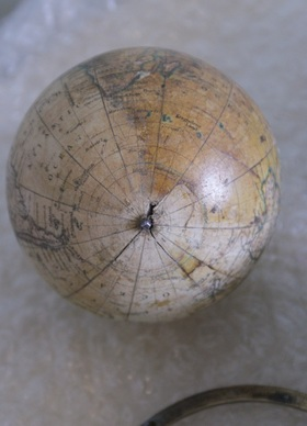 globe restoration, south pole