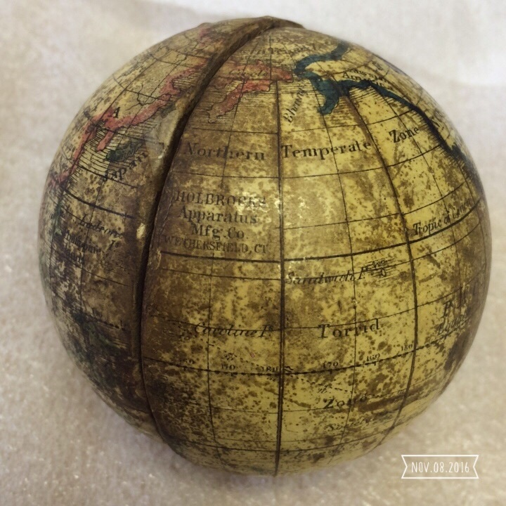 phillips globe , phillips globe restoration, isle of wight globe restoration
