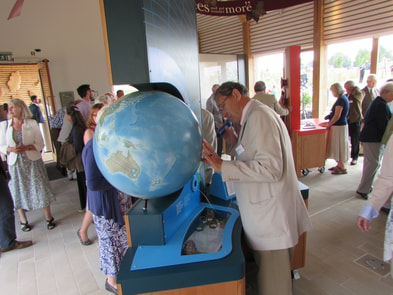 national arboretum globe, westonbirt globe, lander and may globe