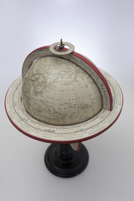 table globe antique reproduction from Lander and May