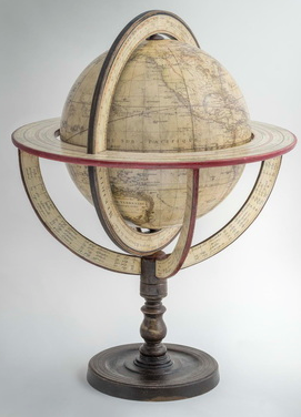 vaugondy globe, globemakers, globe restorations